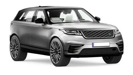 3D render of luxury SUV car with studio lighting . Stock fotó