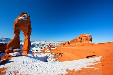 Delicate arch in the Arches national park, Utah, USA