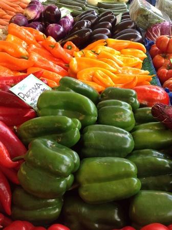 colour: Colorful vegetables