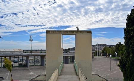 Exteriors of the Velodrome of Horta