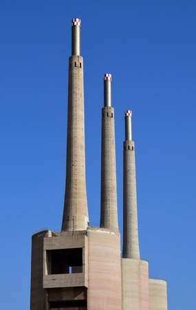 former years: Former thermal power station of Barcelona Besós years from 1917 to 1966