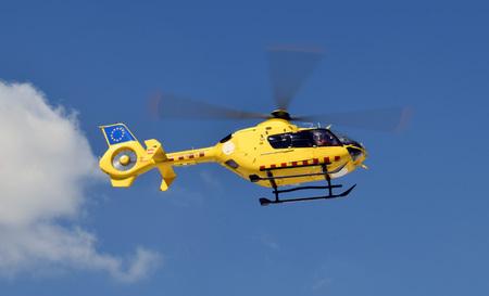 Hubschrauber Mittel des Luftverkehrs