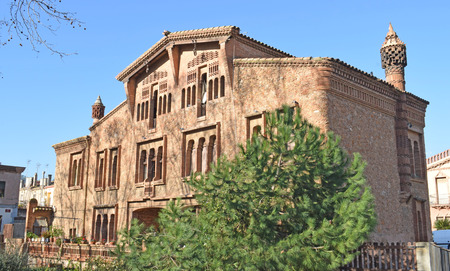 Colonia Güell, building Ca LEspinal province of Barcelona