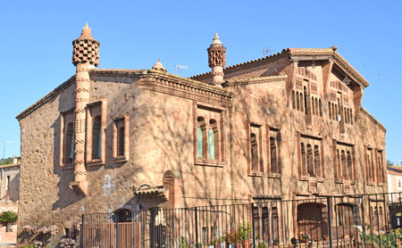 Colonia G�ell, building Ca LEspinal province of Barcelona