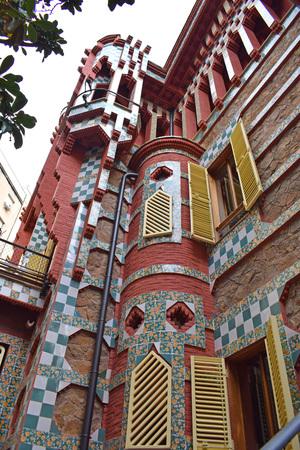 Casa Vicent, by Antonio Gaud? in Barcelona