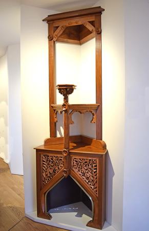 Vintage furniture, Casa Vicent by Antonio Gaud? in Barcelona Editorial