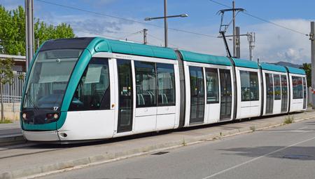 City tram in Barcelona