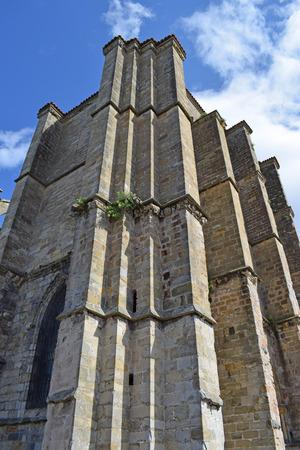 Church of Santa Mar?a de la Asunción in Castro Urdiales Cantabria Spain