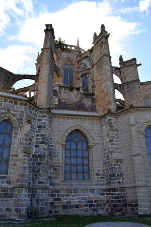 Church of Santa Mar?a de la Asunci?n in Castro Urdiales Cantabria Spain