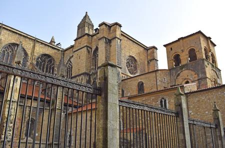 Cathedral San Salvador de Oviedo, in Spain