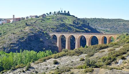 Via Verde Ojos Negros, from Teruel to Valencia Archivio Fotografico