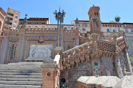 Stairway of the lovers of Teruel