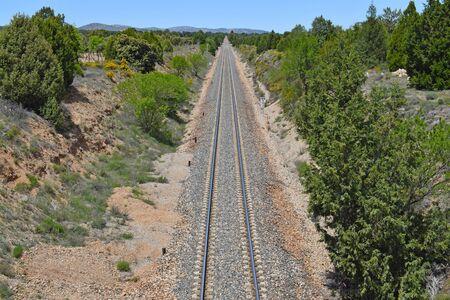 Railways in the province of Teruel Spain