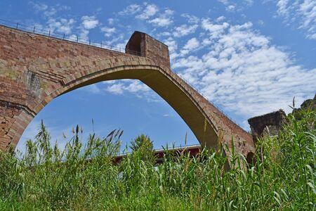 Pont du Diable sur la rivière Llobrega, Martorell Barcelone
