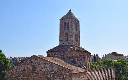 Monumental ensemble of Egara, Iglesia Santa Maria in Tarrasa Barcelona Spain