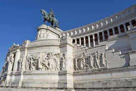 Vittorio Emanuele II in Rome Italy