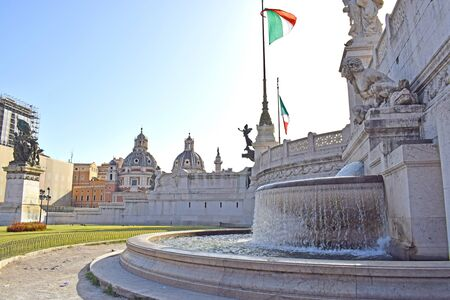 Vittorio Emanuele II, in Rome Italy
