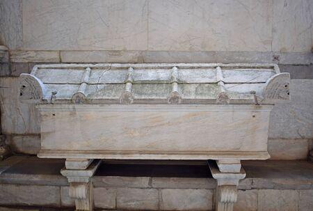 Sarcofago Romano, in Monumental Cemetery of Pisa, Italy