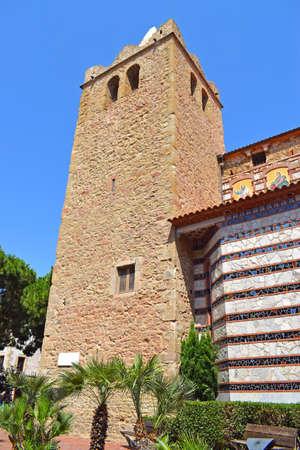 Sant Rom? church in Lloret de Mar Girona Spain