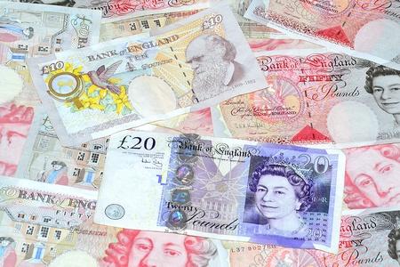 Close-up fotografie geld uit united kingdom