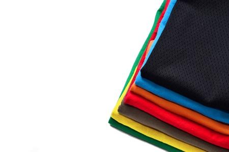 camisas: Camisas cuidadosamente dobladas pila