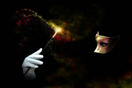 마법의: 그늘 숙녀 만들기 마법의 지팡이 전달
