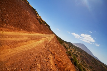 National park of Teide in Canary island of Tenerife, Spain photo