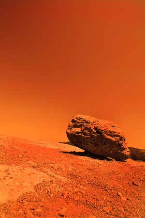 marvellous: View of the red terrestrial planet