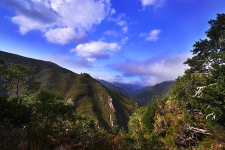 Beautiful mountain panorams photo