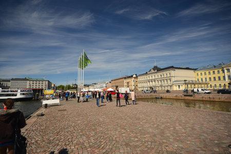 finland: streets of  helsinki, finland Editorial