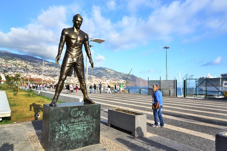 Monument Cristiano Ronaldo, Funchal
