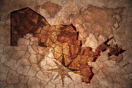 uzbekistan: uzbekistan map on vintage crack paper background