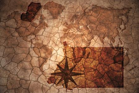 equatorial guinea: equatorial guinea map on vintage crack paper background