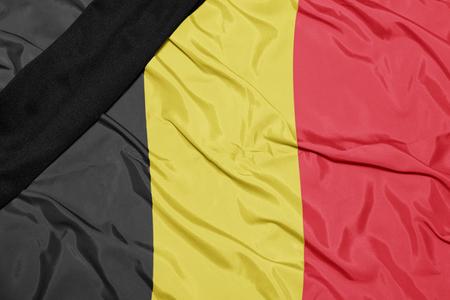 dole: waving national flag of belgium