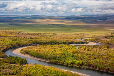 inner mongolia: Inner Mongolia EerguNa River Wetland