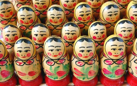 Russian nesting dolls Stock Photo - 5268053