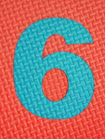 tread plate: Rubber number 6 .  Tread plate texture