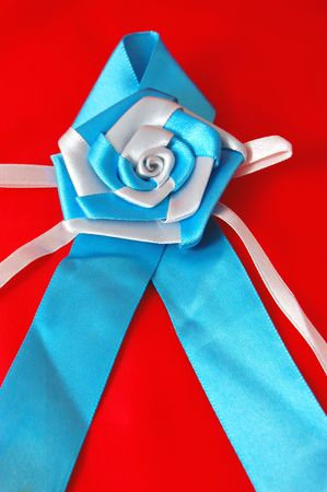 Awareness Ribbon with rose Stock Photo - 5688058