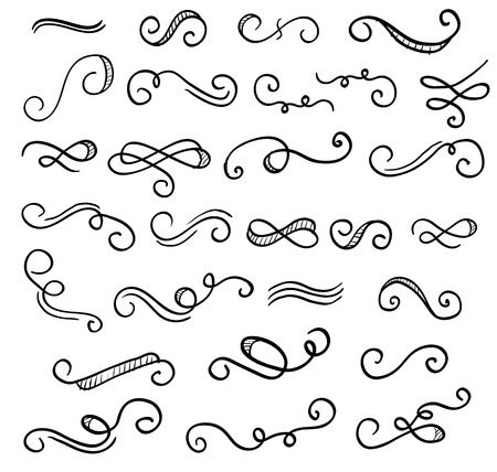 insignia: Vintage adornos adornos de elementos de diseño.