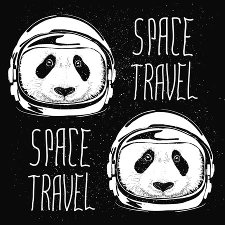 space suit: abstract pattern astronaut helmet to space travel vector emblem isolated