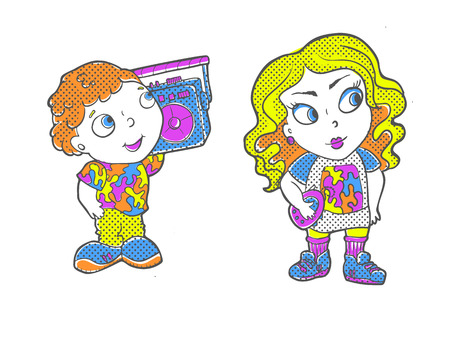 Vector hand drawn illustration. T-Shirt Design and Printing, clothes, bags, posters, invitations, cards leaflets etc