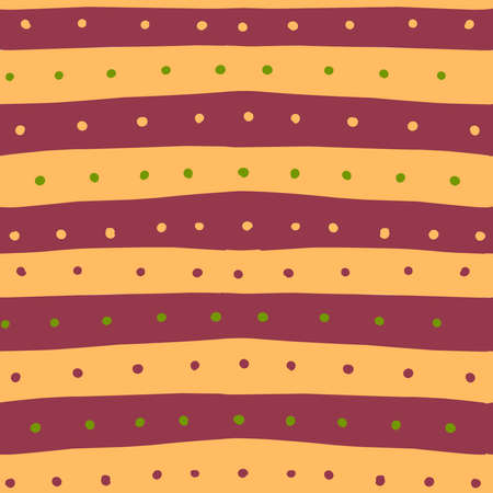 Dot pattern stripes in classic style. Futuristic design. Simple design.