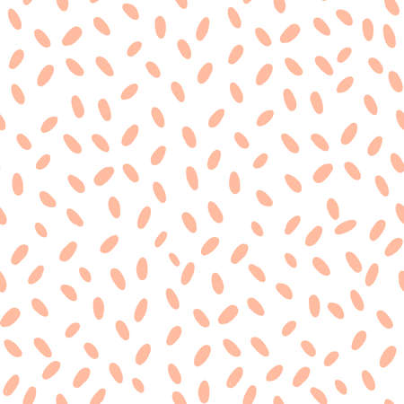 Modern oval seamless pattern for print design.