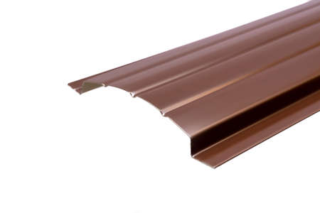 Blockhouse rails for fence colored colorful metal profile elements