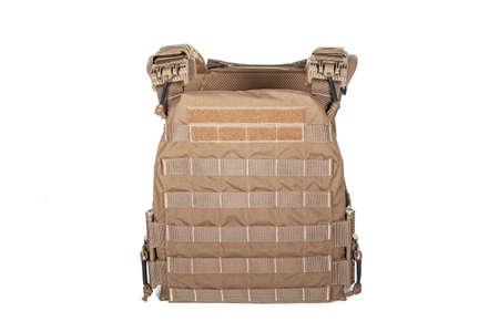 Bulletproof vest, Tactical body armor bulletproof vests hidden with additional pockets, camouflage Foto de archivo