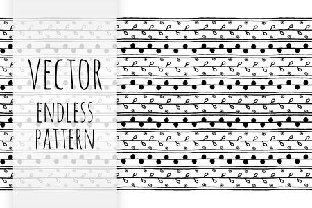 endless: hand drawn endless pattern