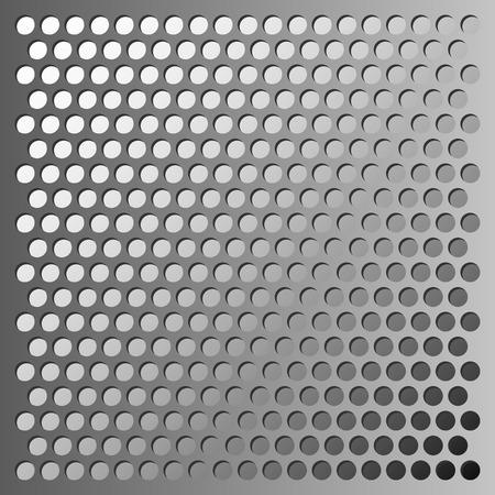 grid: metal grid background