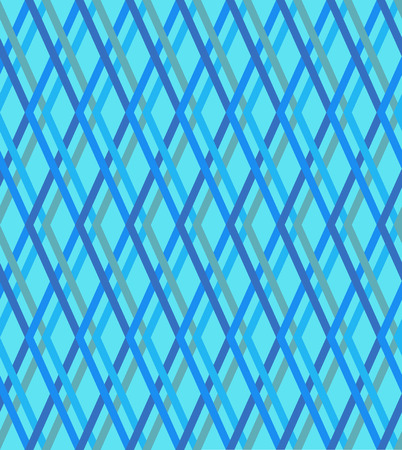 checked: Blue checked pattern, seamless background Illustration