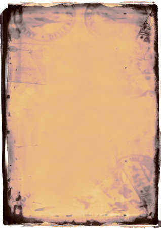 torn edges: digital background with a dark frame and torn edges. good for photo-editing Stock Photo