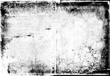 gebrannt: Grunge Schwarz-Wei�-Foto-Rahmen f�r die Bearbeitung